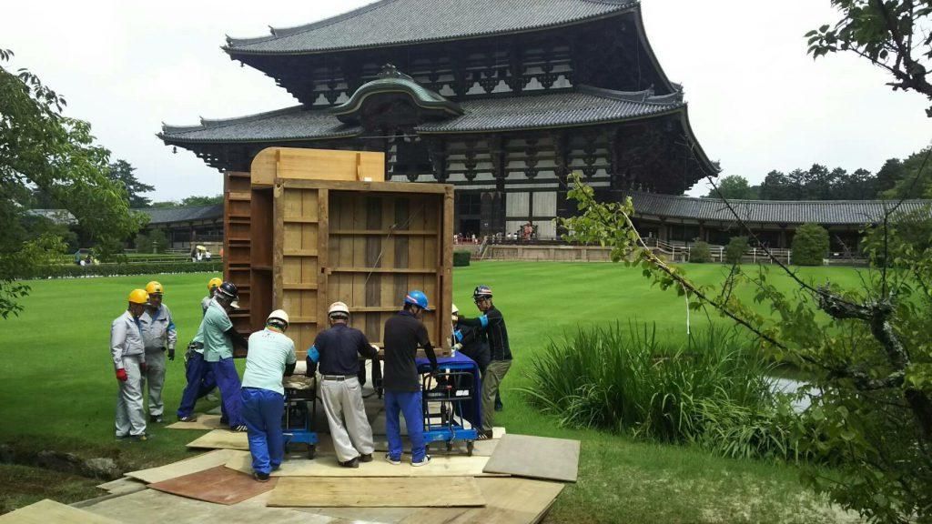 東大寺様の移転作業風景8