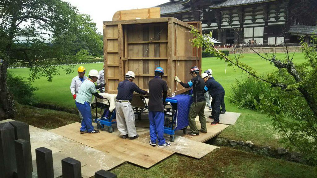東大寺様の移転作業風景9