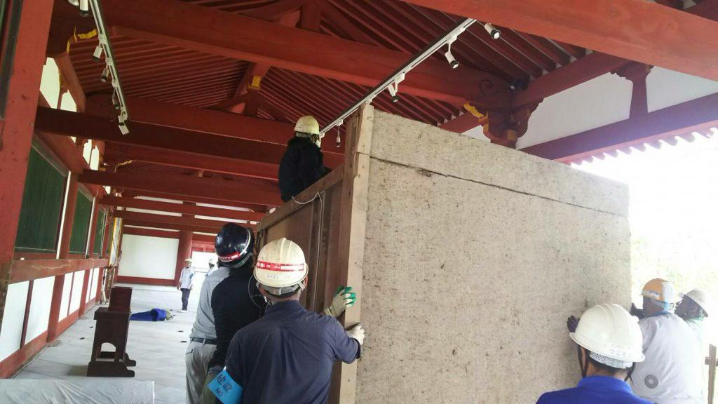 東大寺様の移転作業風景23