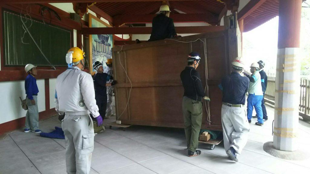 東大寺様の移転作業風景24