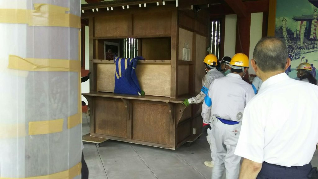 東大寺様の移転作業風景26