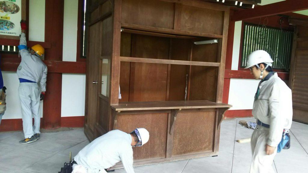 東大寺様の移転作業風景33