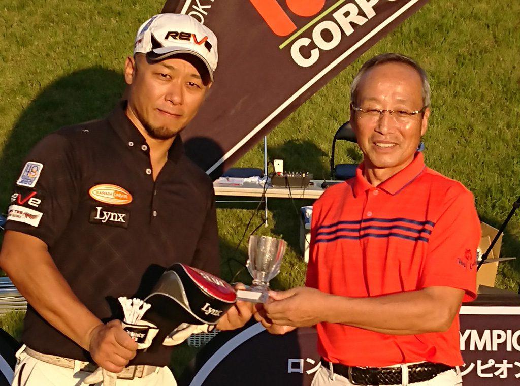 太田選手がケンカップ予選をダブル優勝