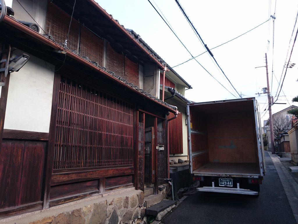 築400年のお引越し|奈良県奈良市