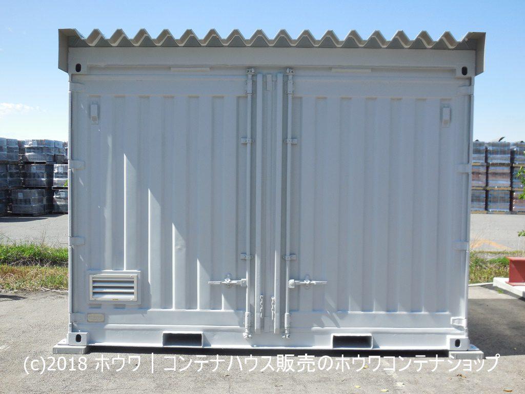 12フィート法責箱(少量危険物倉庫)を納品|愛知県内