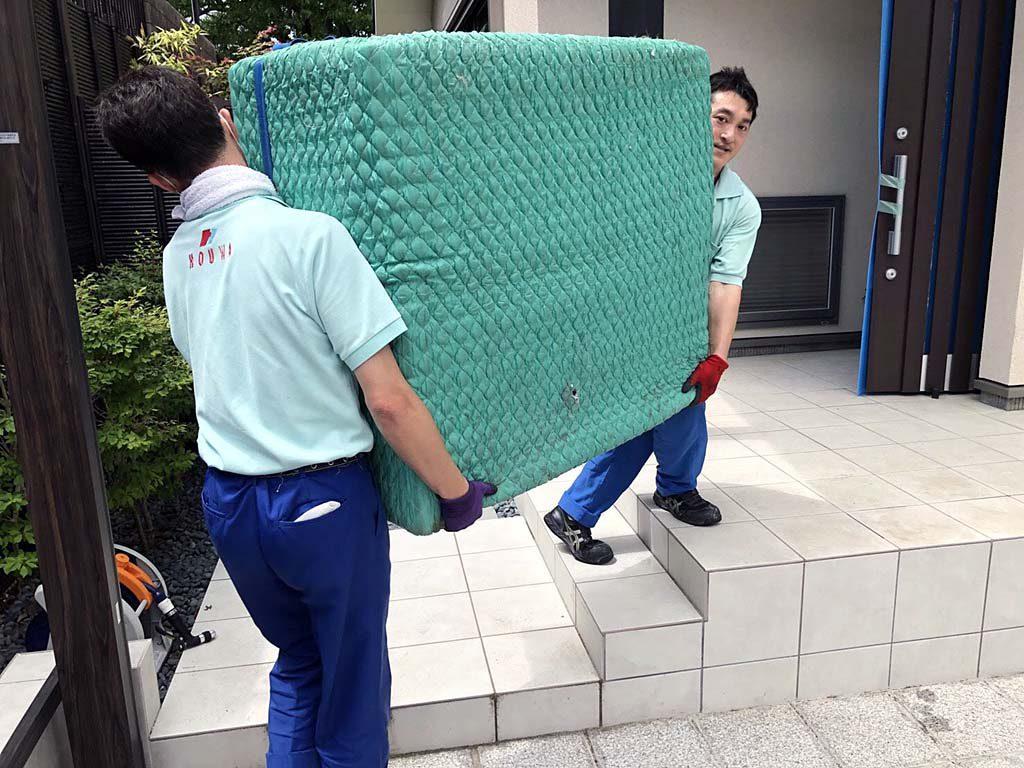 京都市でマンションリフォームに伴うお引越 | トランクルーム保管無料サービスをご利用