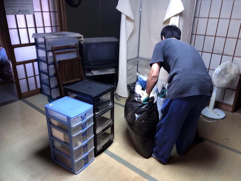 当社地元の大和郡山市横田町でお片付け、家じまい