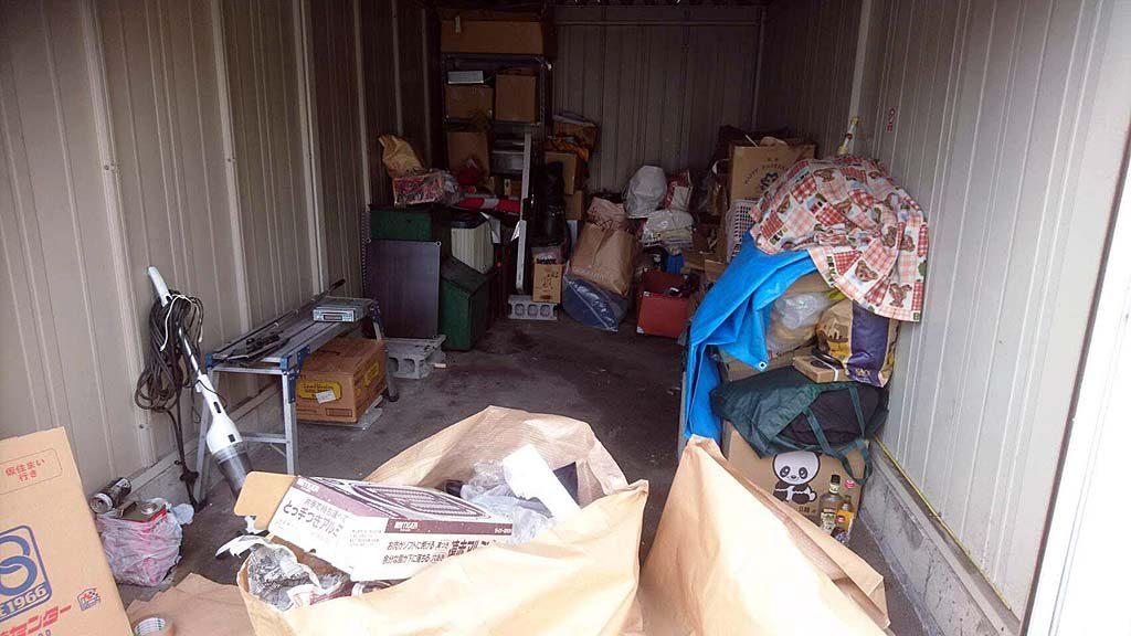 大和郡山市でガレージのお片付け