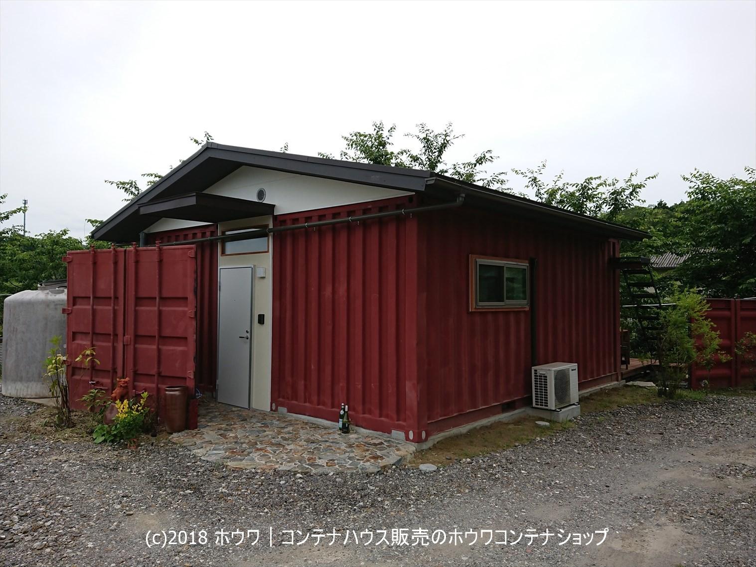 三重県内のコンテナハウス住居