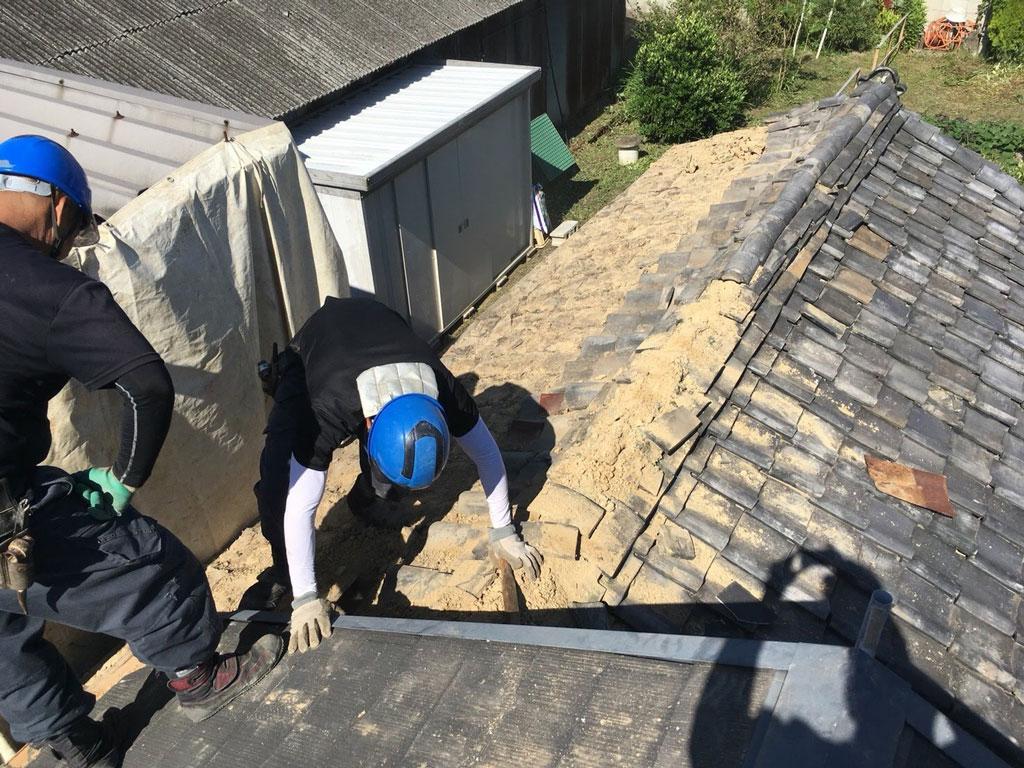 離れを残してタマホームさんでお建て替え | 大和郡山市で解体工事