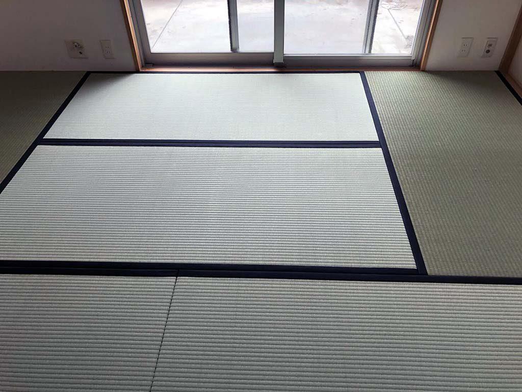 伊丹市で片付け&襖と畳の張替