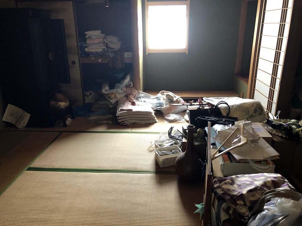奈良市内で空家のお片付け