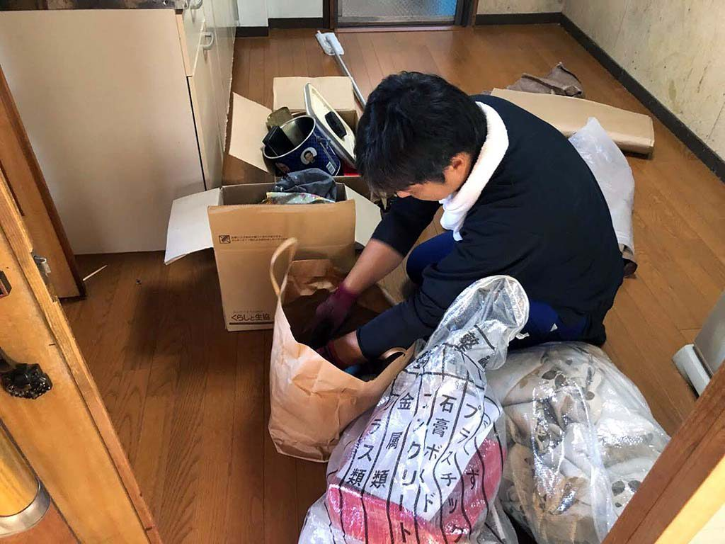 奈良市でご実家のお片付け