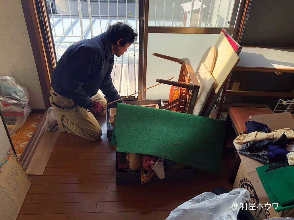京田辺市で一軒家のお片付けとお引越