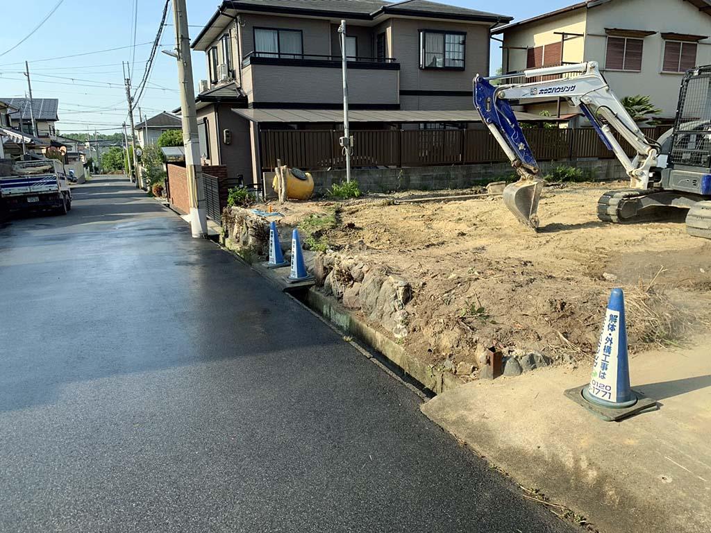 外構・石垣の撤去