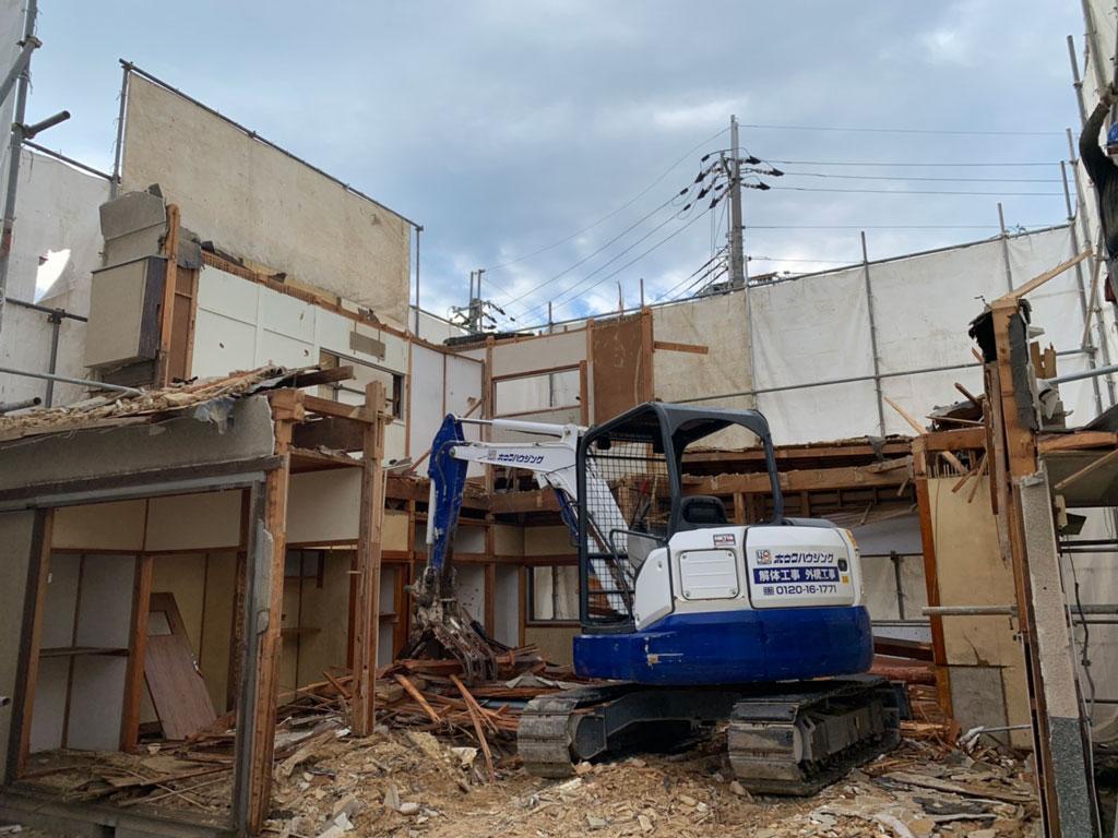 タマホームさんでお建て替え | 奈良市で解体工事