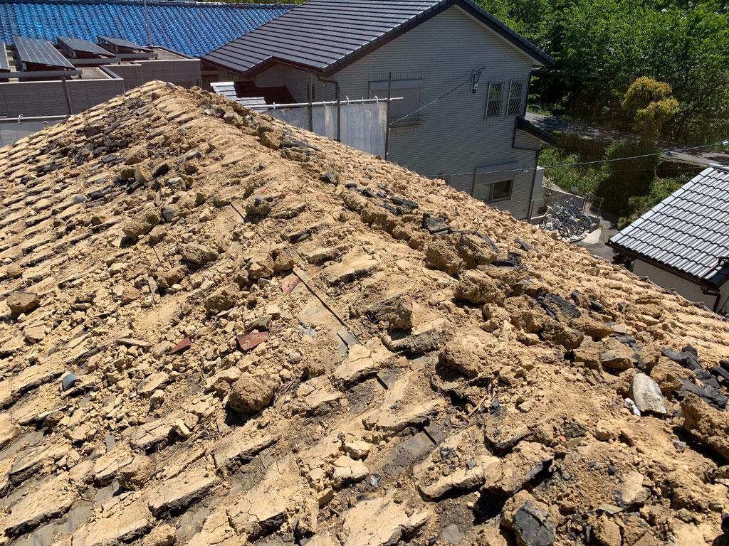 タマホームさんでお建て替え   奈良市で解体工事