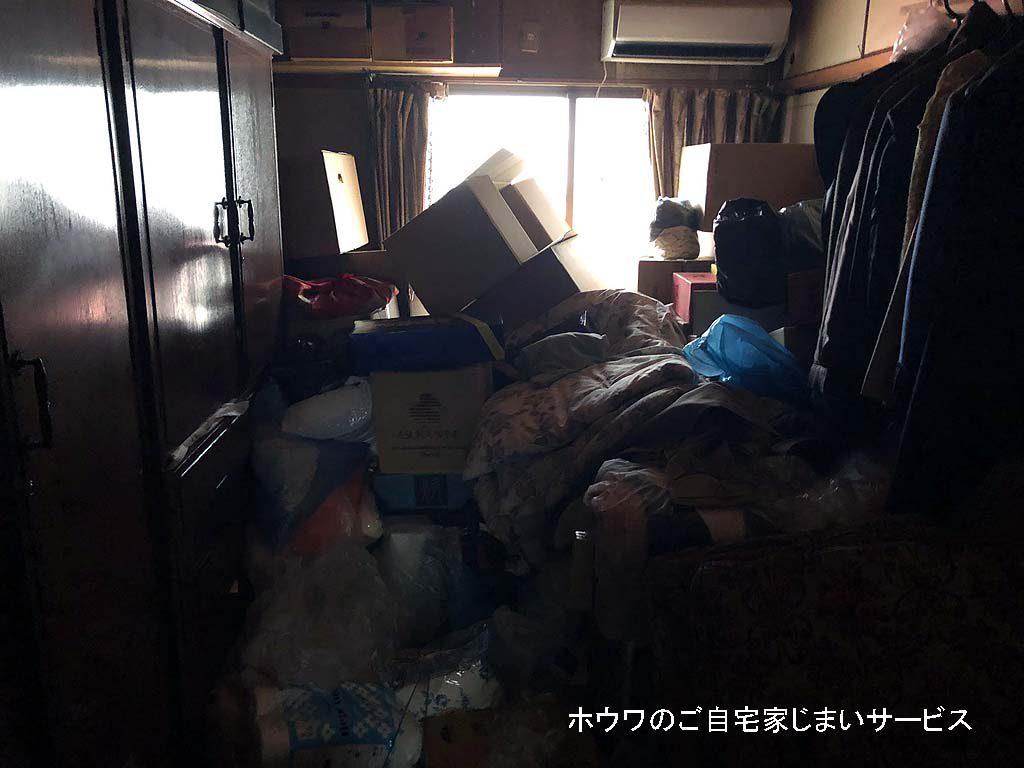 大阪市港区でアパート退去に伴うお片付け
