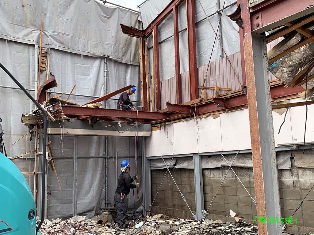 鉄骨造建物の解体