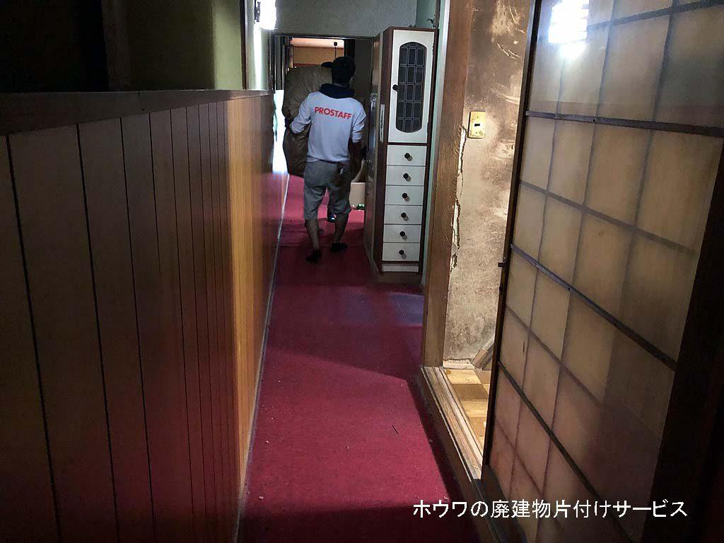 京都市で廃業された旅館のお片付け