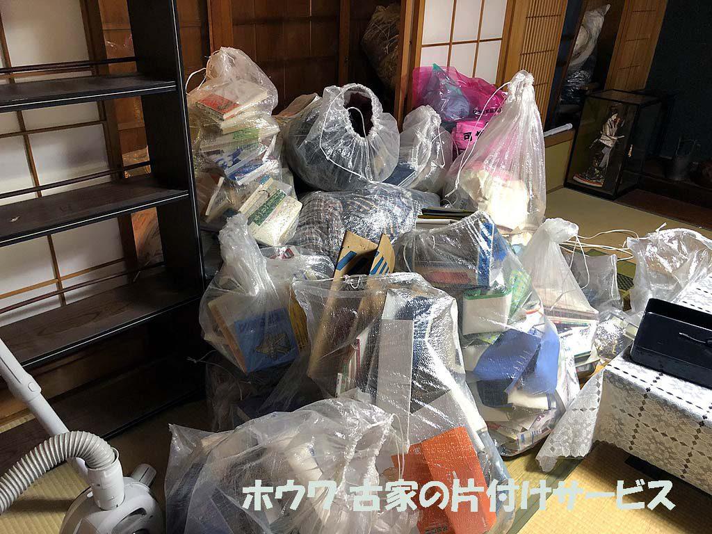 桜井市で解体予定のお家のお片付け