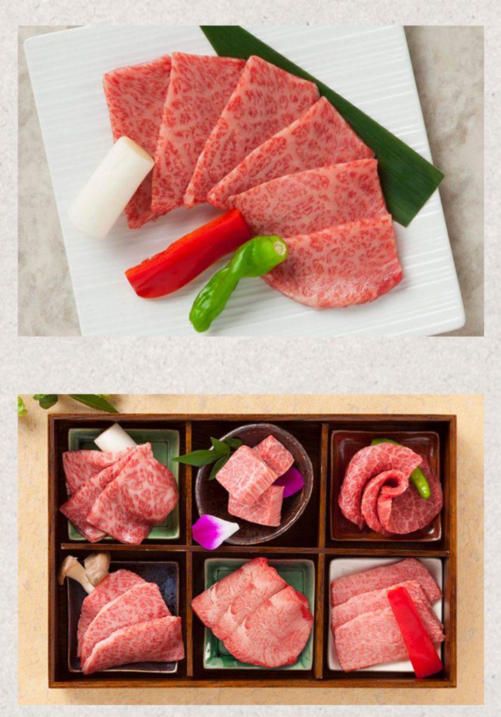 エキスポシティ内の焼き肉屋さんの平城苑様のお肉