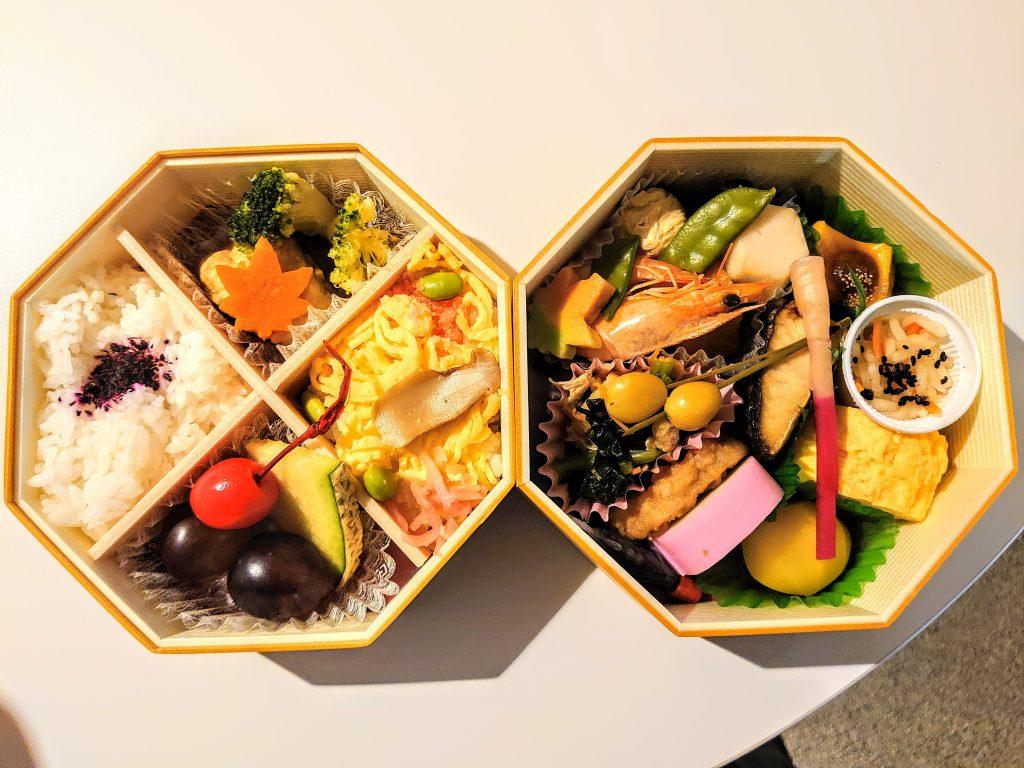 日本代表vsベネズエラ代表ラウンジのお弁当さん。