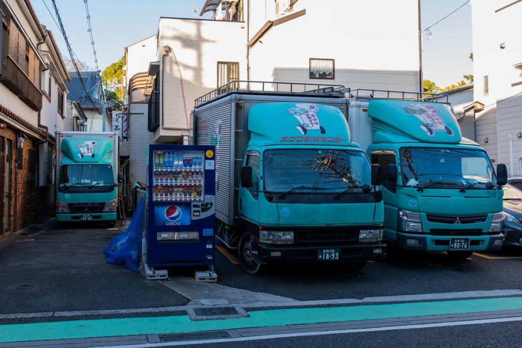 建て替え引越/茨木市積地/トラック