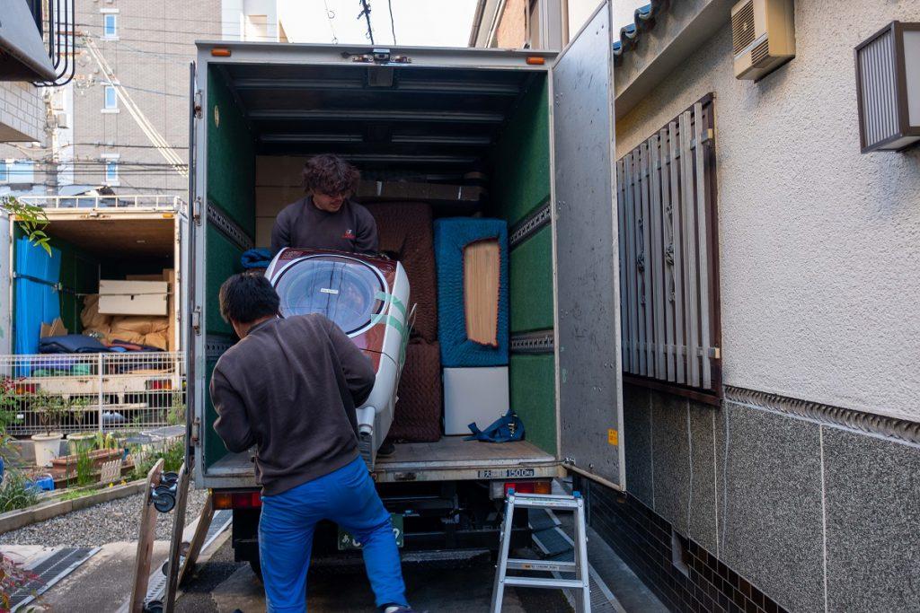 建て替え引越/茨木市積地/お荷物運び出し⑤