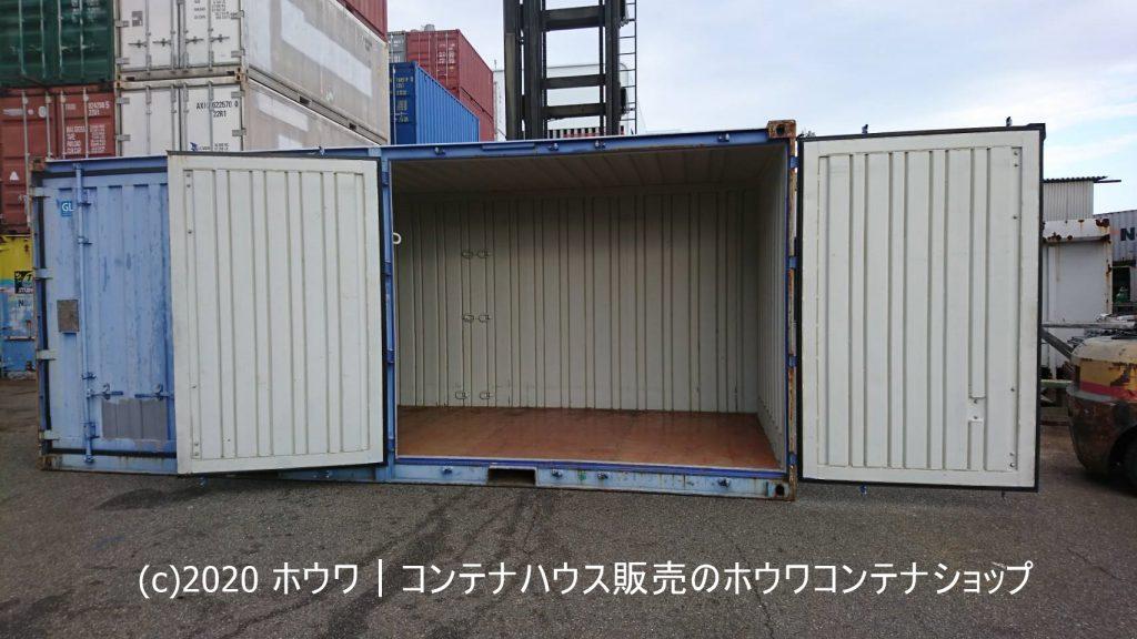 【お客様にて改造】40フィート×3台・20フィート×2台納品例|愛知県内