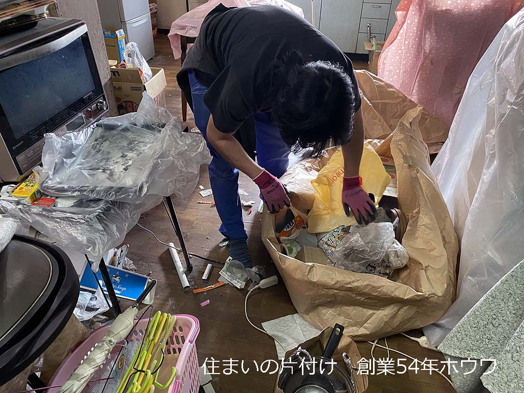 大和高田市のネズミでお困りのお家 -お片付け編-