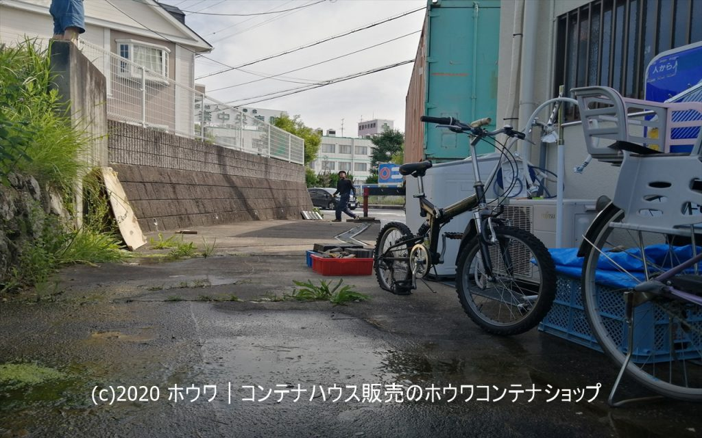 【Do It Yourself 】20ftコンテナ【生駒市】
