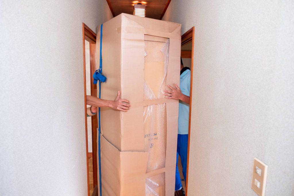 橿原市にてお建て替え 気合いの家具運搬2