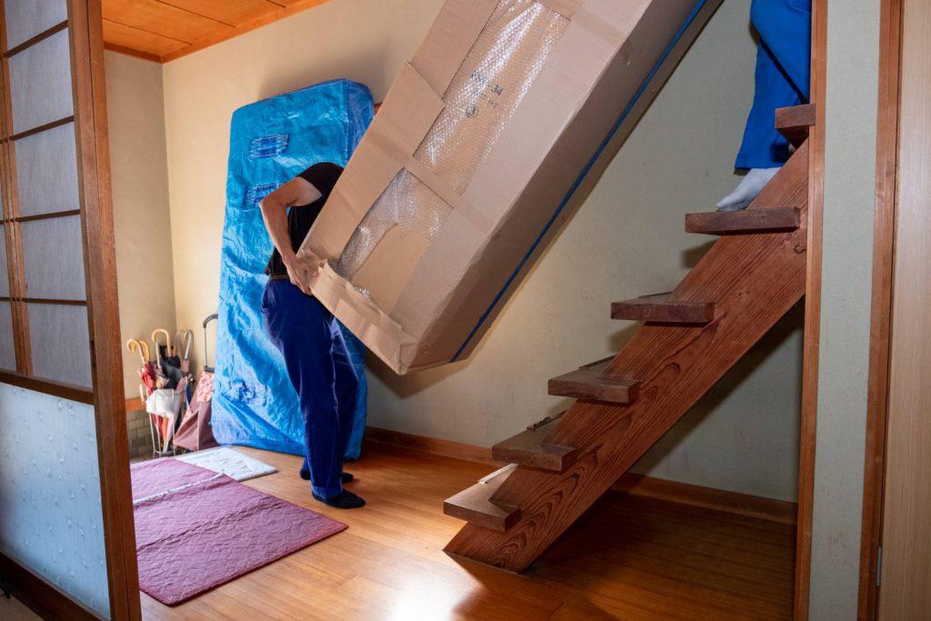 橿原市にてお建て替え 気合いの家具運搬3