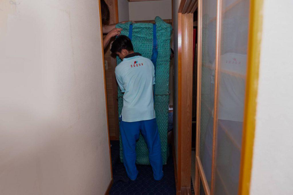 橿原市にてお建て替え 冷蔵庫運搬