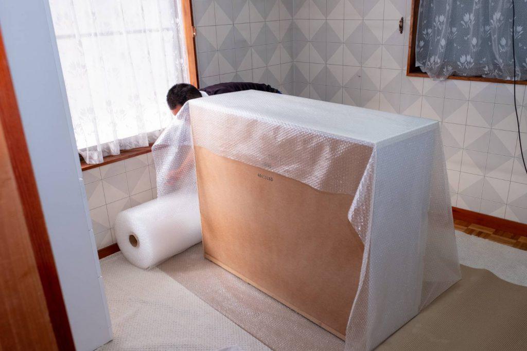 橿原市にてお建て替え 家具梱包3