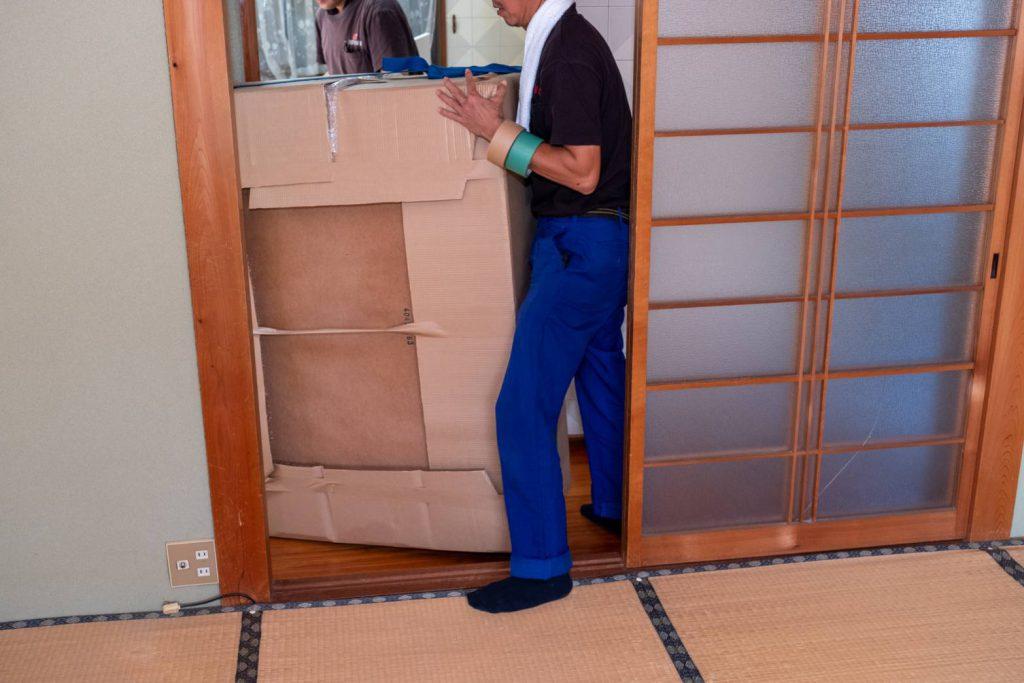 橿原市にてお建て替え 気合いの家具運搬1