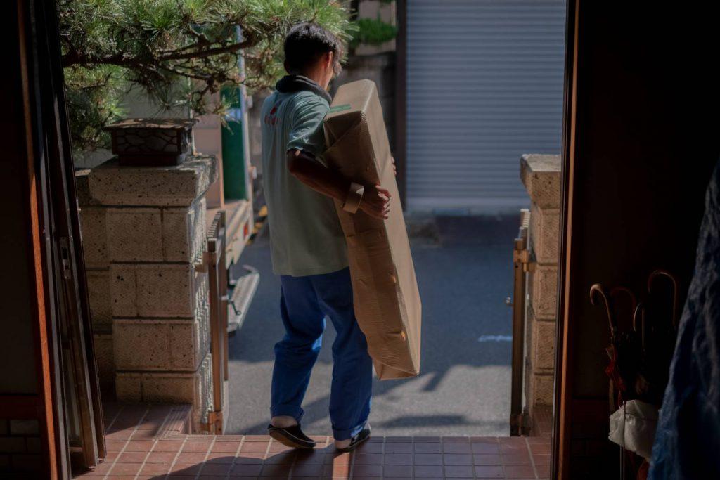 橿原市にてお建て替え 気合いの家具運搬8