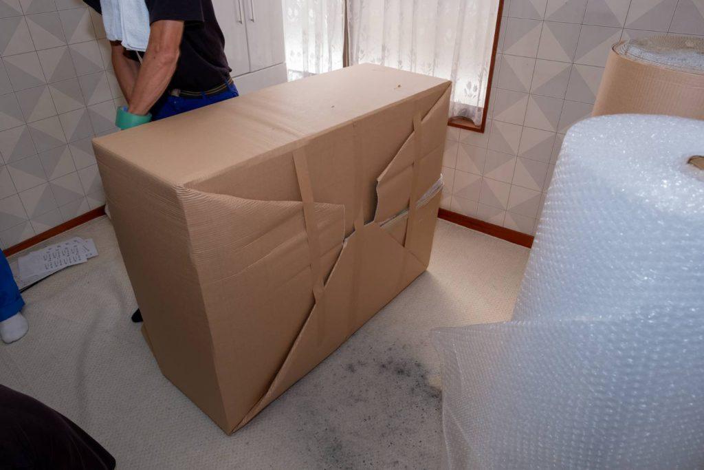 橿原市にてお建て替え 家具梱包8