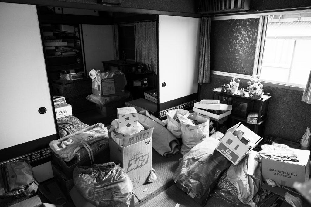 売却予定家屋内の不用品引取ー開始前②|奈良県斑鳩町