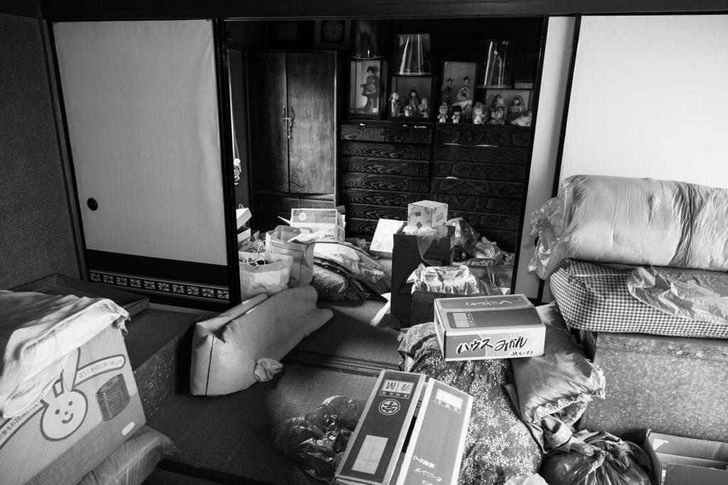 売却予定家屋内の不用品引取ー開始前3|奈良県斑鳩町