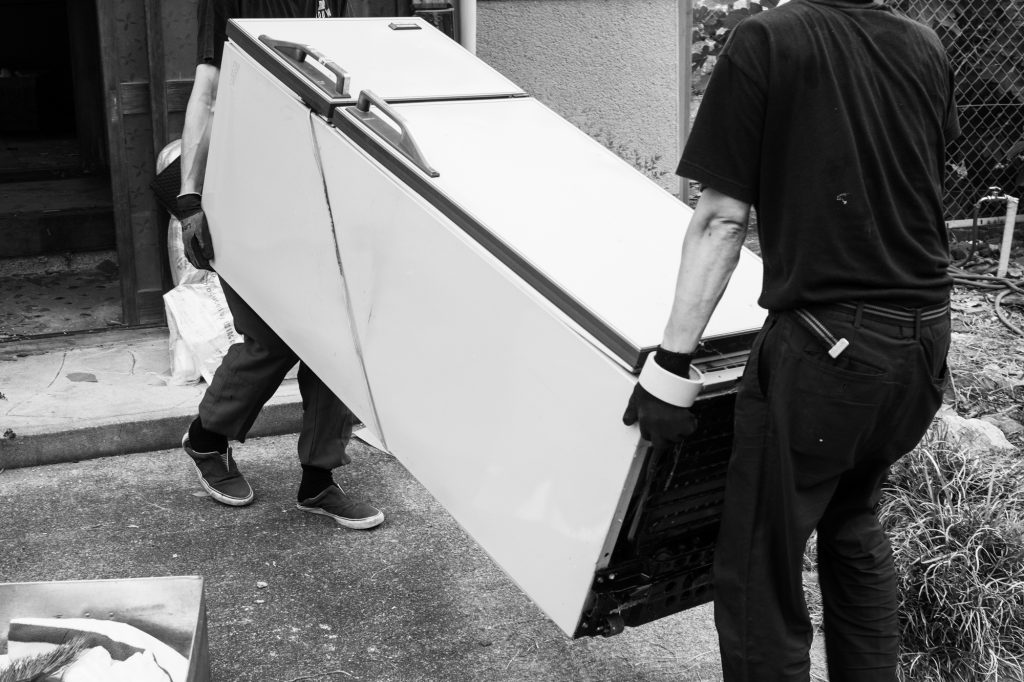 売却予定家屋内の不用品引取ー搬出9|奈良県斑鳩町