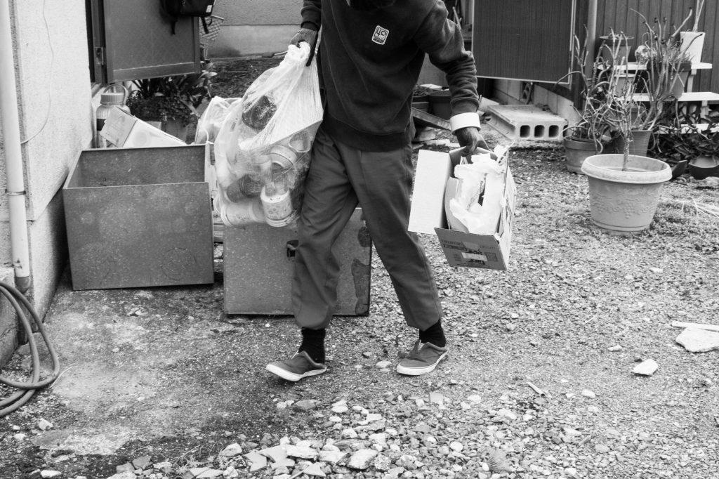 売却予定家屋内の不用品引取ー搬出3|奈良県斑鳩町