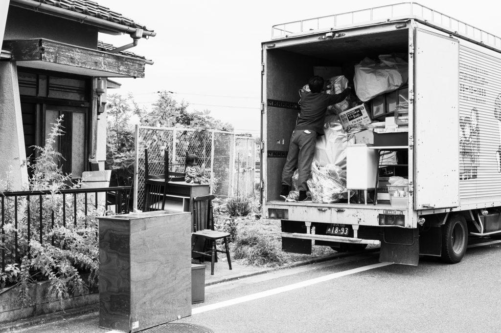 売却予定家屋内の不用品引取ー搬出5|奈良県斑鳩町