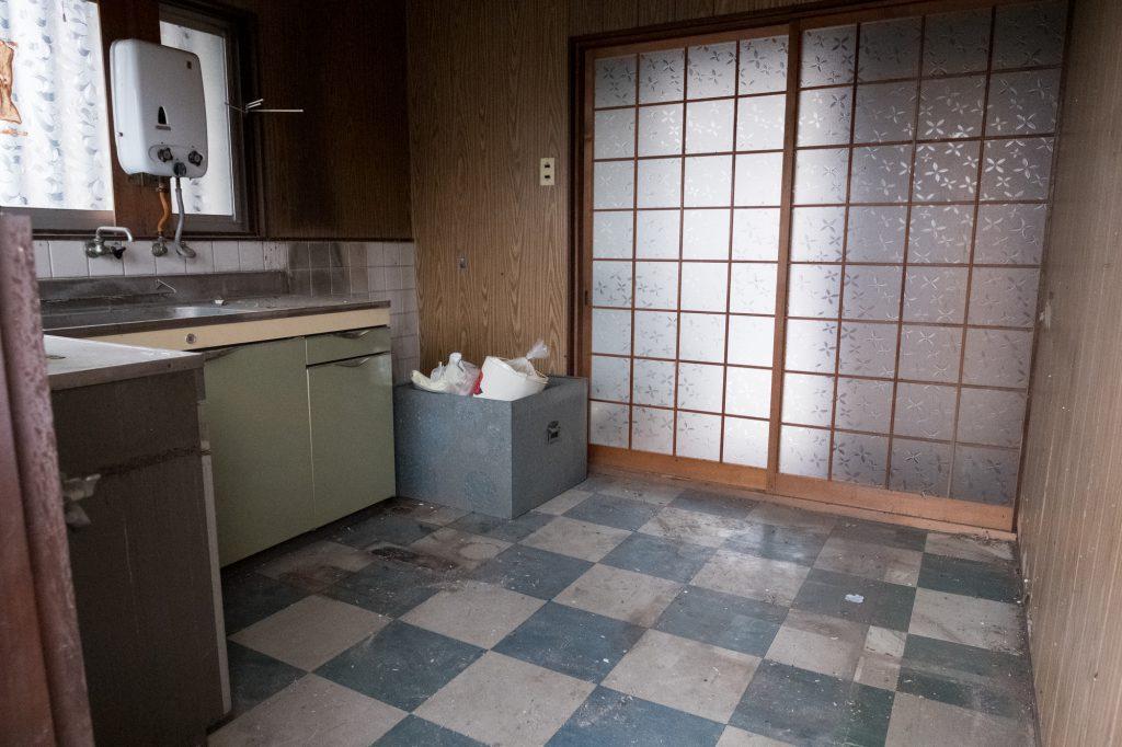 売却予定家屋内の不用品引取ー完了1|奈良県斑鳩町