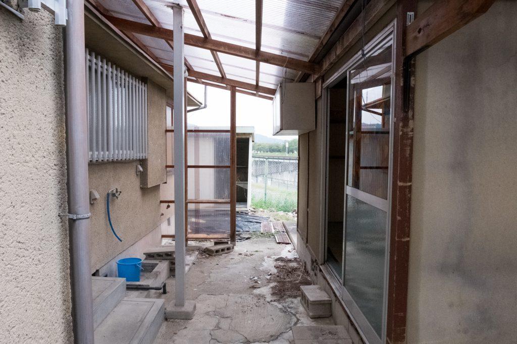 売却予定家屋内の不用品引取ー完了4|奈良県斑鳩町