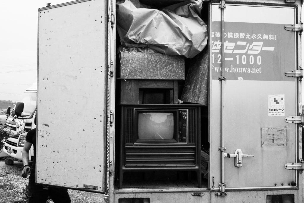 売却予定家屋内の不用品引取ー搬出7|奈良県斑鳩町