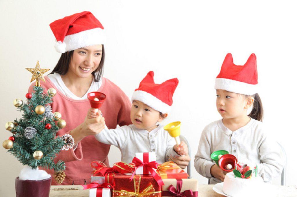 家族で楽しむクリスマス