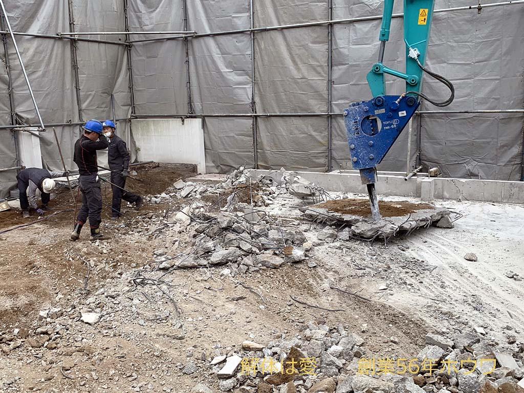 ヤマダホームズさんのモデルハウス | ABCハウジング住宅公園で解体工事
