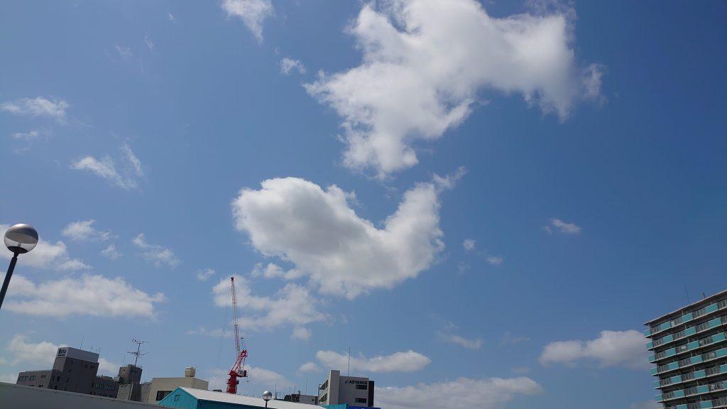 大阪市内はええ天気でっせー